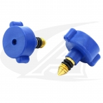 CK-100VK Gas Valve W/ O-Rings For Low Profile TIG Torches