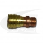 "Stubby Gas Lens Collet Bodies, .040"" (1.0mm) - 1/8"" (3.2mm)"