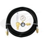 Gentec® Premium Flowmeter/Regulator w/ Gas Hose Kit