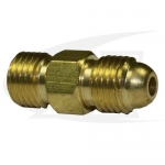 "WP-24 Series ""A"" Size Male Coupler, 3/8""-24RHM to 3/8""-24RHM"