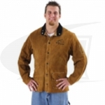 Side Split Cowhide Welding Coat - 26""