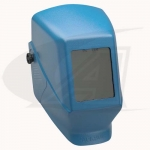 Click to see larger version of W10 HSL 100 Passive Welding Helmet - Blue