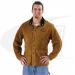 Side Split Cowhide Welding Coat - 30""