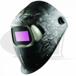 Click to see larger version of 3M™ 100 Series Welding Helmet - Steel Rose