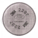 Particulate Filter 2297, P100 W/ Nuisance Level Organic Vapor