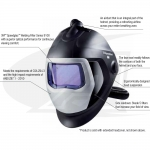 Speedglas™ 9100-Air Adlfo™ W/ Organic Vapor/Acid Gas Filter