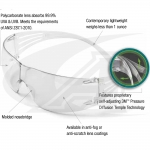 200 Series SecureFit™ Safety Goggles - Clear