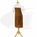 Click to see larger version of Side Split Cowhide Welding Bib Apron - 42""