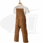 Side Split Cowhide Welding Split-Leg Apron - 42""
