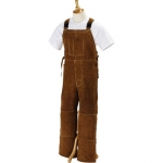 Click to see larger version of Side Split Cowhide Welding Bib Overall - 43-46W x 30-34I