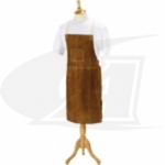 Click to see larger version of Side Split Cowhide Welding Bib Apron - 48""