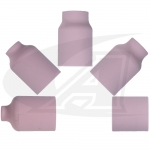 Click to see larger version of Large Diameter Gas Lens Alumina TIG Nozzles