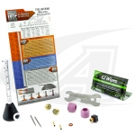 LowRider TIG Gas Lens Pro Kit™: 9, 20 & 2 Series Torches