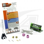 LowRider TIG Gas Lens Pro Kit™: 24 & 8 Series Torches