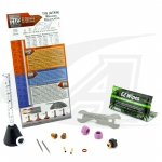 LowRider Slammed TIG Gas Lens Pro Kit™: 9, 20 & 2 Series Torches