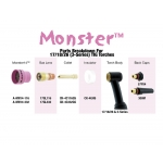 Monster #14 Gas Lens Kit: 17, 18, 26 & 3 Series Torches