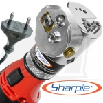 EU 230V Cordless Sharpie DX™ Tungsten Grinder Adjustable 15°-45°
