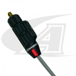 Click to see larger version of SafeLoc, 150 Amp Small Gas-Thru DINSE Connector