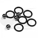 BuildPro™ Replacement O-Rings & Balls For Ball Lock Bolts