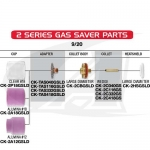 Large Gas Saver Push-On Nozzles for 9/20 (2-Series) Torches
