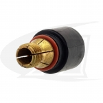 "Locking Short Back Cap For 1/4"" (6.35mm) Electrodes - CK-510"