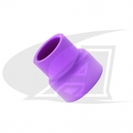 Low Profile Alumina TIG Nozzles For WP-24 (8-Series) Torches