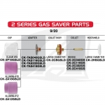 Gas Saver #18 Pyrex: 9/20 & 2-Series Torches