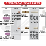 Gas Saver #8 Pyrex: 17, 18, 26 & 3-Series Torches