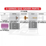 Gas Saver #18 Pyrex: 17/18/26 & 3-Series Torches