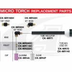 Micro Torch Nozzles for CK-MR70 & CK-MR140