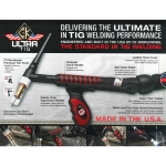 UltraTIG Compact Torch Package, 300Amp