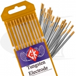 CK® Brand 1.5% Lanthanated Tungsten Electrodes, 10-Pack