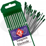 CK® Brand Pure Tungsten Electrodes, 10-Pack