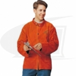 "Side Split Cowhide Welding Coat - 30"", Top Grade"