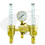 Premium Dual Argon Flowmeter/Regulator