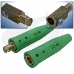 350 Amp Lenco Cable Connector - Green