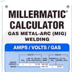 Click to see larger version of MIG/GMAW Calculator