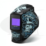 Digital Elite Lucky's Speed Shop Auto-Darkening Welding Helmet