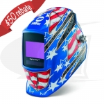 Digital Elite Stars & Stripes III Auto-Darkening Welding Helmet
