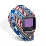 Digital Infinity Stars & Stripes Auto-Darkening Welding Helmet