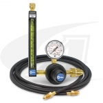 Smith® Precision Series Flowmeter/Regulator, All Gas w/ Gas Hose