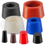 Silicone Tube Purge Plugs