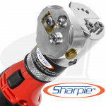 Cordless Sharpie DX™ Tungsten Grinder Adjustable 15°- 45°
