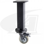 Pro28 Heavy Duty Table Leg with Caster, Locking Brake: 650