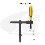 BuildPro™ Pivoting T-Post Clamp W/ Magnetic V-Pad