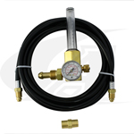 Click to see larger version of Smith® Economy Series Flowmeter/Regulator w/ Gas Hose Kit