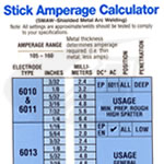 Miller® Stick/SMAW Calculator