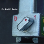 Adjust-O™ 90° Dual Switch Magnet Square