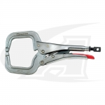 Locking C-Clamp Welding Pliers -- Round Tip