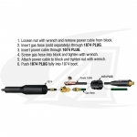 150 Amp TIG Torch Extension Kit, Tweco/Lenco